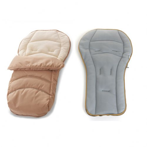 Hauck CosyToe 2 Way Footmuff - Beige
